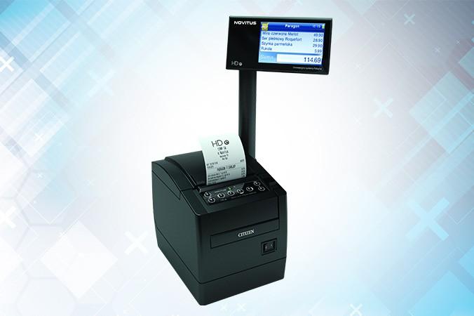 Novitus HD E - drukarka fiskalna do zadań specjalnych