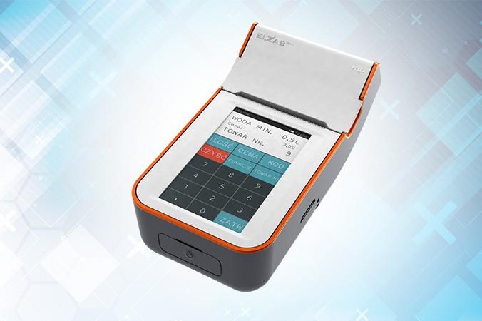 Elzab K10 - kasa fiskalna z ekranem dotykowym
