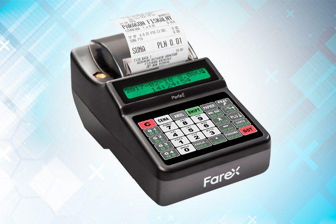 Mobilna kasa fiskalna od Farex