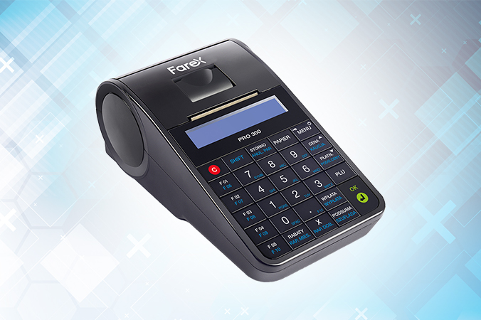 Farex Pro 300 - nieduża kasa fiskalna online